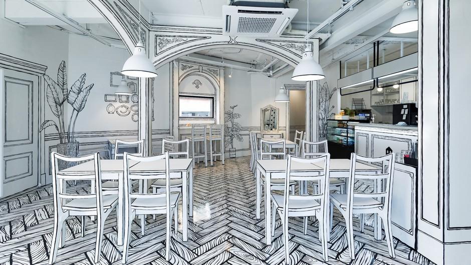 To je RESNIČNA kavarna, ki bo popolnoma zmedla vaše možgane (foto: Greem Café)