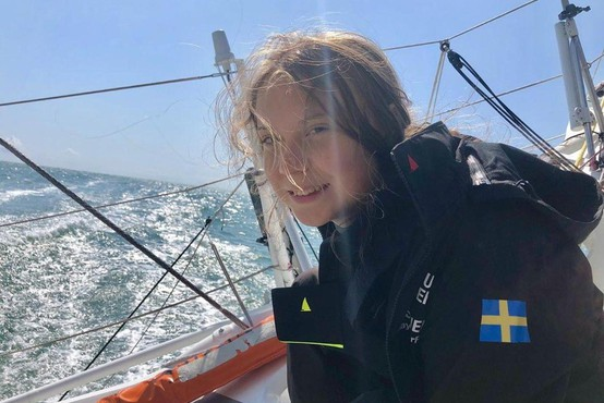 Na podnebno konferenco v Madrid potuje Simon Zajc, Greta še vedno sredi Atlantika!