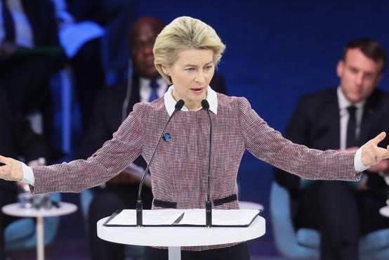 """Ursula von der Leyen: """"Predstavljam si Evropo za svoje otroke ali vnuke!"""""""