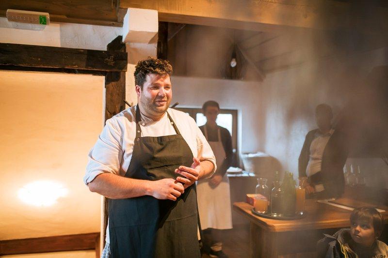 Chef Luka Košir iz Gostišča Grič