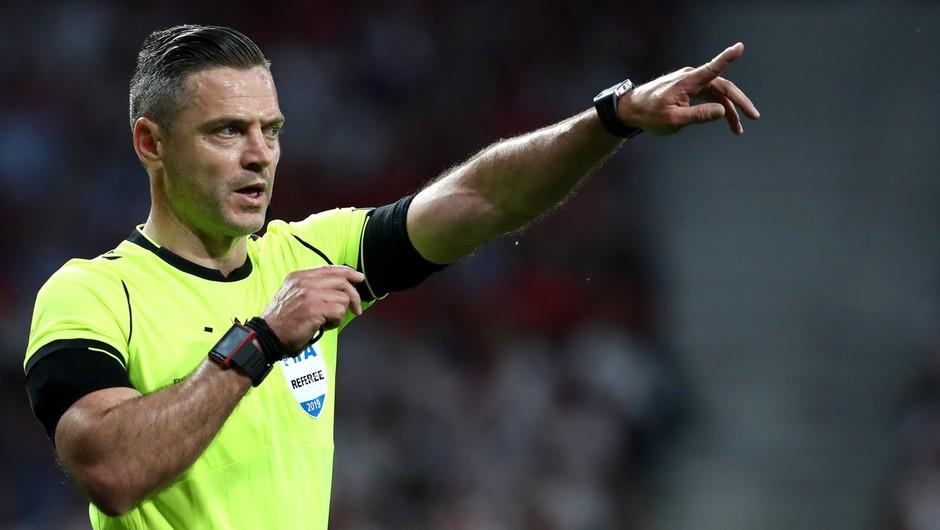 Damir Skomina razglašen za najboljšega nogometnega sodnika na svetu (foto: profimedia)