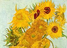Jakna YSL po navdihu van Goghovih Sončnic prodana za 382.000 evrov
