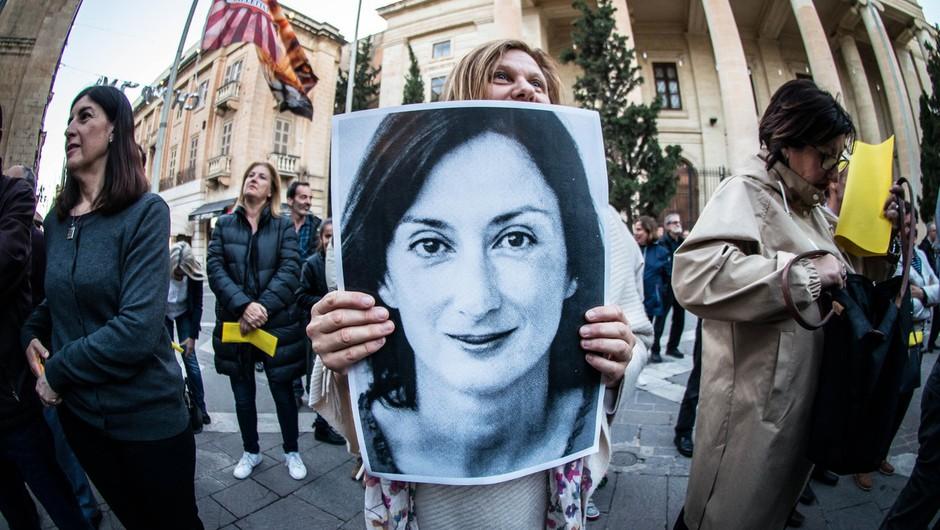 Preiskava umora malteške novinarke Daphne Caruane Galizie se resno zapleta (foto: profimedia)