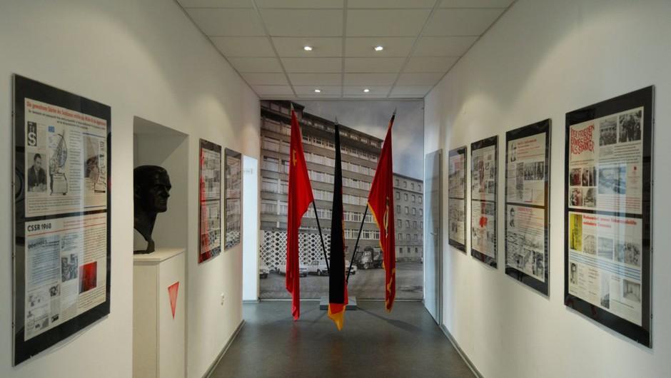 Po dresdenskem gradu oropali še berlinski muzej Stasija (foto: profimedia)