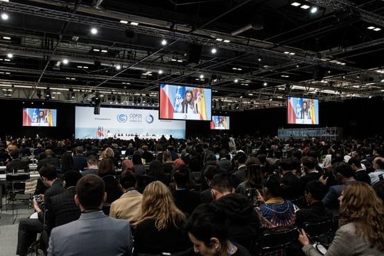 """Antonio Guterres ob odprtju podnebne konference: """"Izbiramo med upanjem in predajo!"""""""