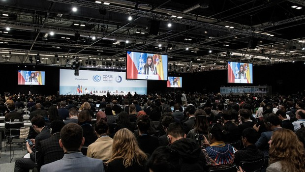 """Antonio Guterres ob odprtju podnebne konference: """"Izbiramo med upanjem in predajo!"""" (foto: profimedia)"""