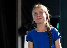 Podnebna aktivistka Greta Thunberg priplula do Lizbone