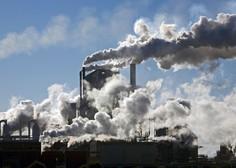 Koncentracija ogljikovega dioksida v ozračju proti novemu rekordu