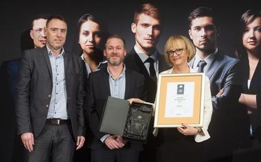 Naziv najuglednejšega delodajalca v Sloveniji prejelo podjetje Lek