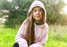 Greta Thunberg je v Madrid pripotovala z vlakom