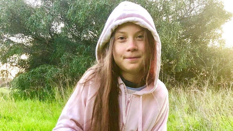 Greta Thunberg je v Madrid pripotovala z vlakom (foto: profimedia)