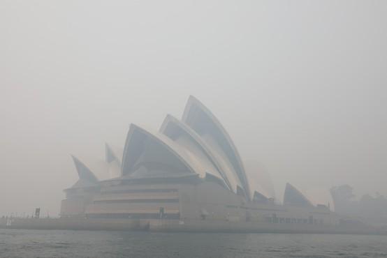 Sydney ponovno zavit v strupen dim gozdnih požarov