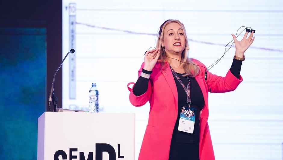 Dr. Emma Rodero: Kako uporabljate (svoj) glas, ima večji vpliv, kot si predstavljate (foto: Žiga Intihar)