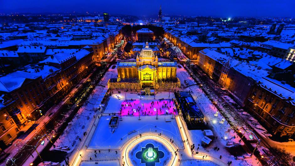 Novo leto: to so najbolj priljubljene evropske destinacije za skok v 2020 (foto: Infozagreb.hr/D. Rostuhar)