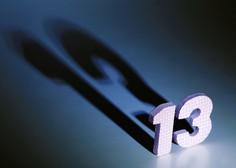 Petek 13. - vraževerje, katerega izvor ni natančno znan!