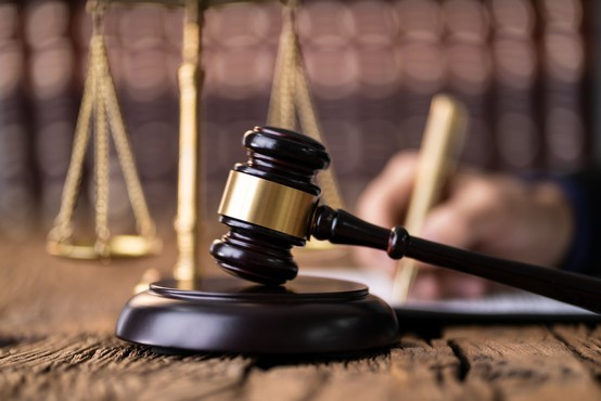 Sodišče z zaznambo na funkcionalno zemljišče ob URI Soča