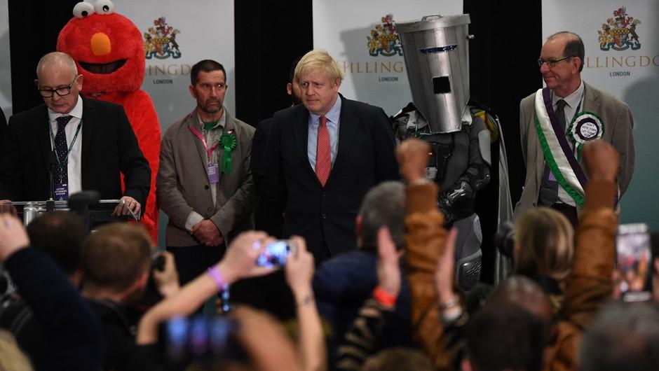 Britanski konservativci osvojili absolutno večino v parlamentu (foto: profimedia)