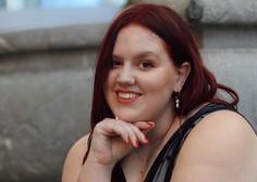 Nataša Mernik, ko je soočena z opazko ''Debela si, pa brez zamere.''