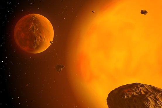 Slovenska planet in njegova zvezda sta Iztok in Irena