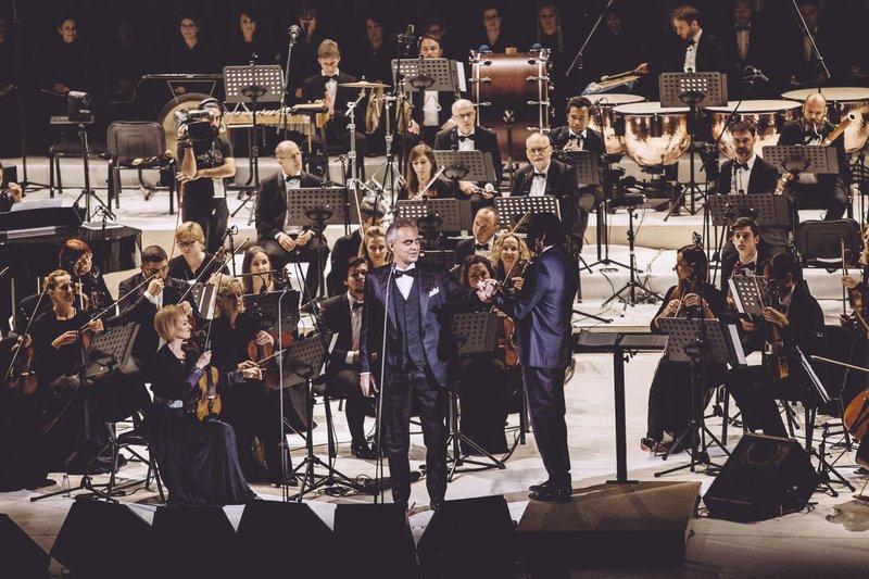 Bocelli bo 7. marca nastopil tudi v ljubljanskih Stožicah.