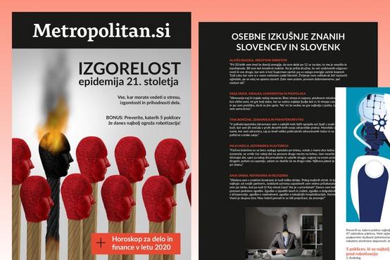 Metropolitanova brezplačna e-knjiga: Izgorelost – epidemija 21. stoletja!