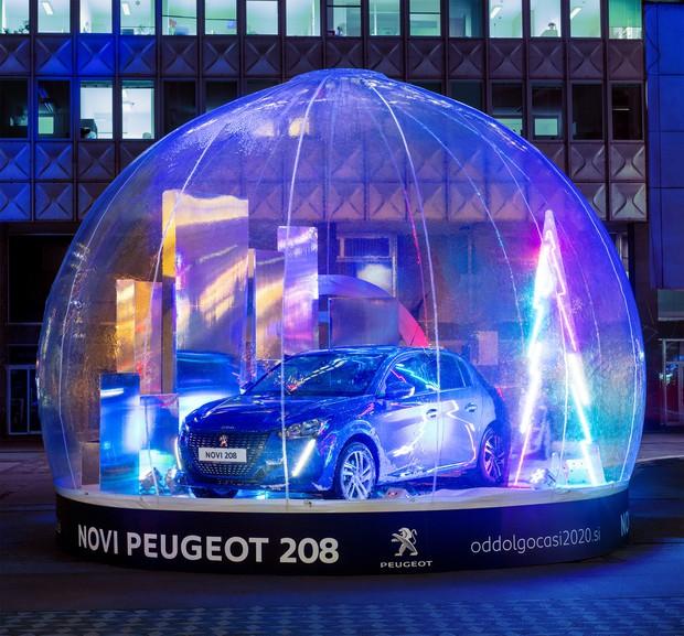 Prihodnost v snežnih kroglah sredi Ljubljane (foto: promocijski material)