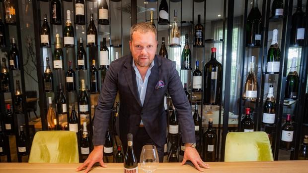 """Gašper Čarman: """"Ne smemo reči, da imamo Slovenci najboljše vino"""" (foto: Saša Kapetanovič)"""