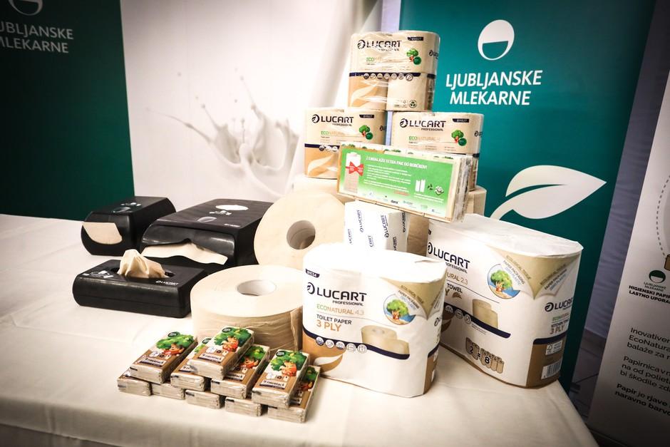 Ljubljanske mlekarne prve v Sloveniji zapirajo interno snovno zanko za embalažo Tetra Pak (foto: promocijski material)