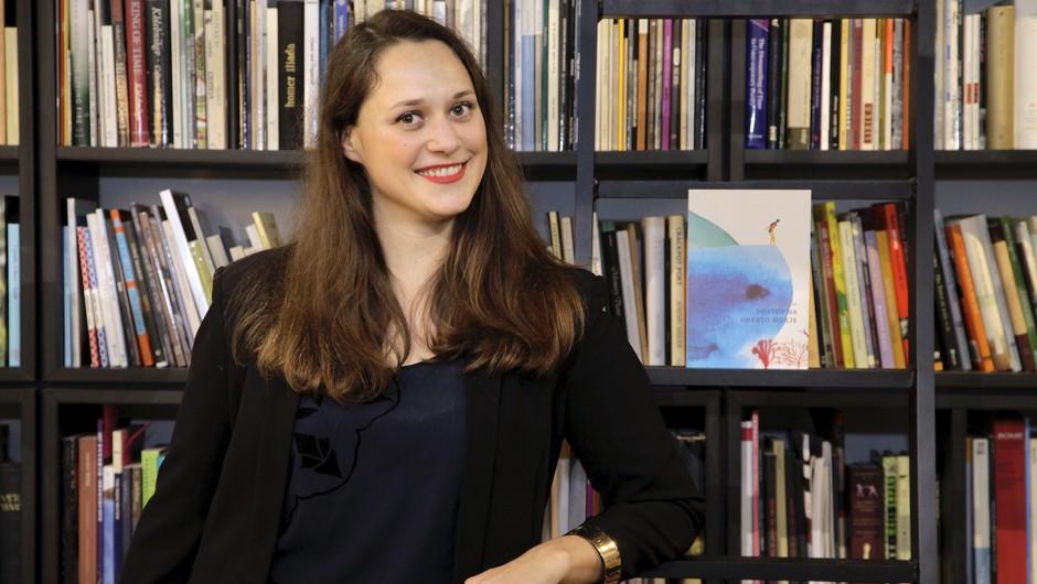 Nina Kremžar: Ne vem, zakaj bi morali branje mladim predstavljati kot garanje (foto: Aleksandra Saša Prelesnik)