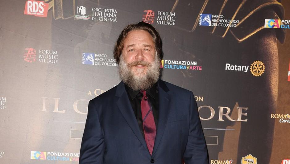Russell Crowe kot scenarist, režiser in igralec v  filmu o Marcu Pierreu Whiteu (foto: profimedia)