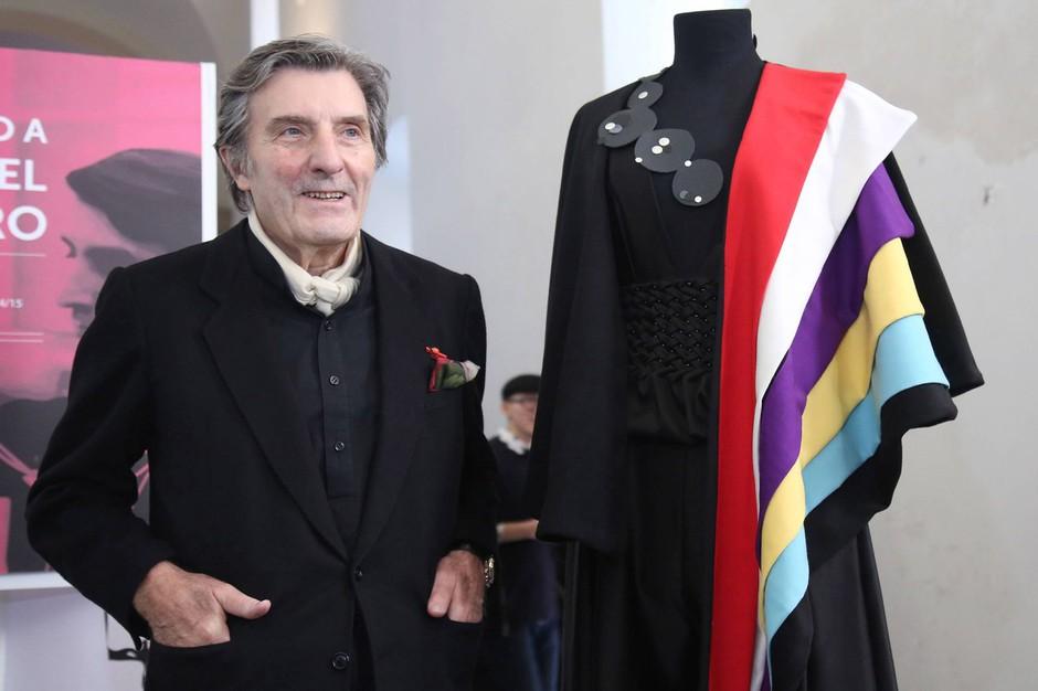 Poslovil se je modni oblikovalec Emanuel Ungaro (foto: profimedia)