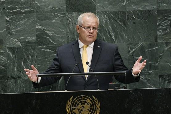 Avstralski premier Scott Morrison ni za brezglavo prenagljena ukrepanja