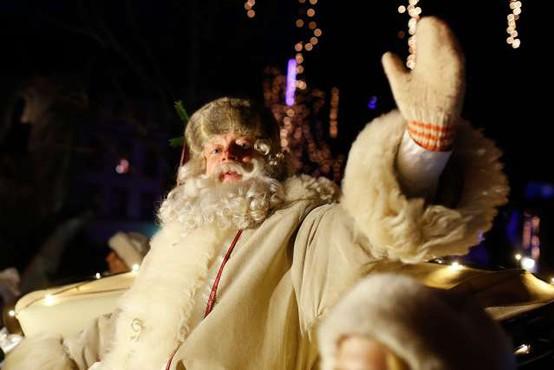 V Ljubljano se bo izpod Triglava pripeljal dedek Mraz