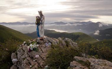 Po Jakobovi poti v Španiji letos več kot 344.000 ljudi