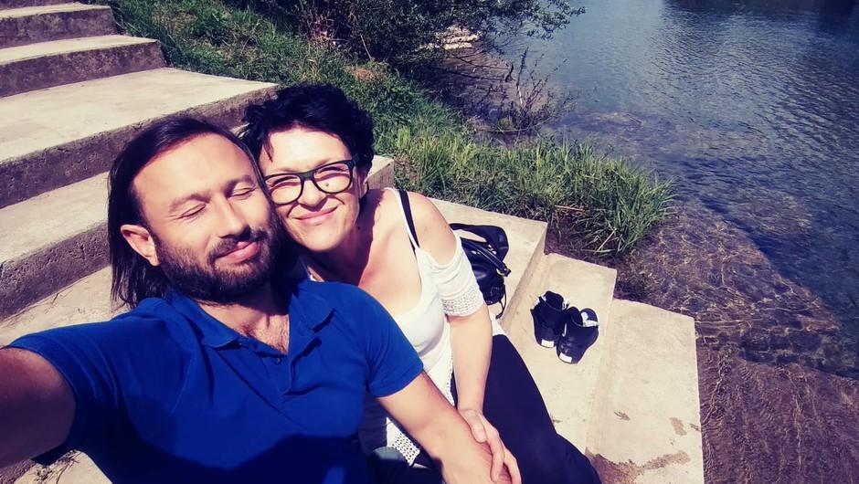 """Novomeščanka Dragana Reba: """"Ne bom pustila, da ga odpeljejo v smrt!"""" (foto: Dragana Reba)"""