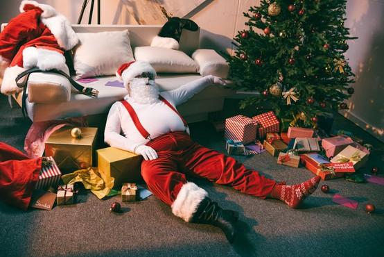 Poležavanje v času praznikov škoduje zdravju, svarijo znanstveniki