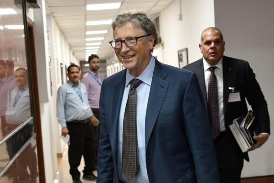 Bill Gates v svojem blogu poziva k višji obdavčitvi bogatih