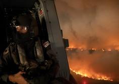 Na tisoče ljudi beži pred požari v Avstraliji