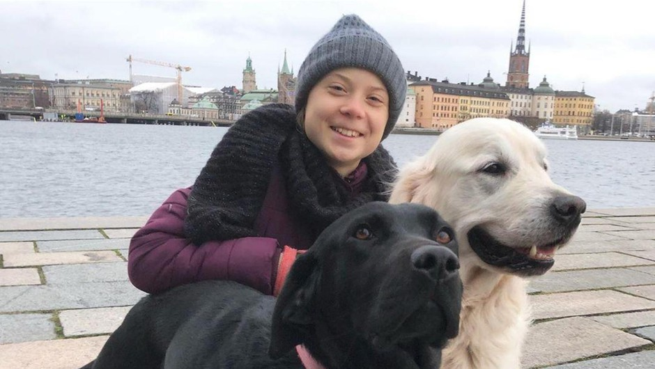 Greta Thunberg na Twitterju spremenila ime v Sharon (foto: profimedia)