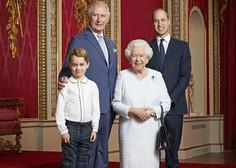 Nov portret britanske kraljice s prestolonasledniki ob začetku desetletja