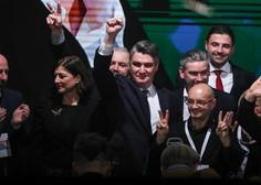 Zoran Milanović novi hrvaški predsednik