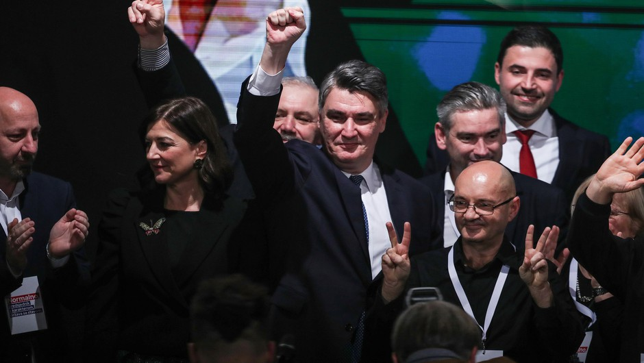 Zoran Milanović novi hrvaški predsednik (foto: profimedia)