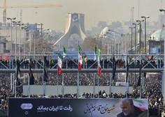 V Teheranu množično slovo od iranskega generala, po svetu zaskrbljeni
