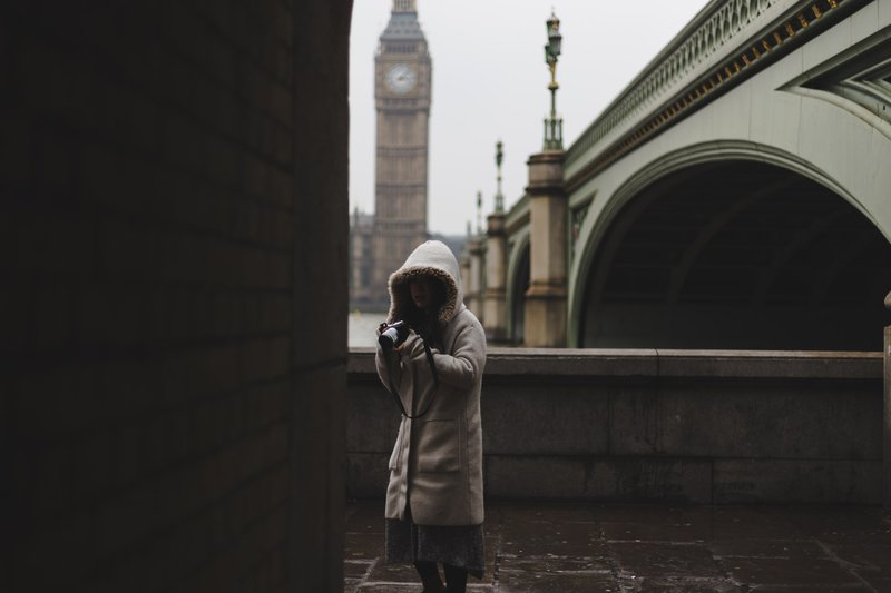 Westminster bridge, London, Velika Britanija