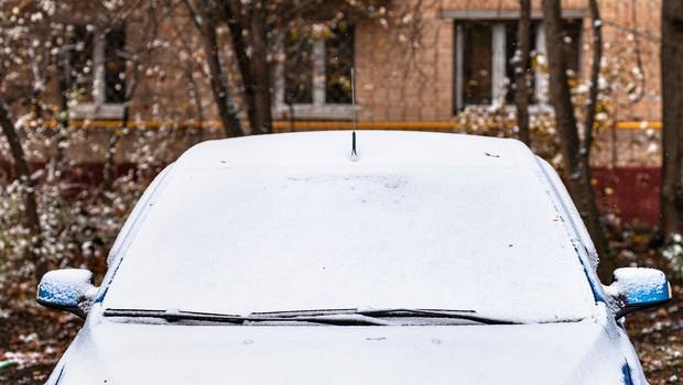 Policisti opozarjajo na nujo čiščenja zaledenelih avtomobilskih stekel (foto: profimedia)