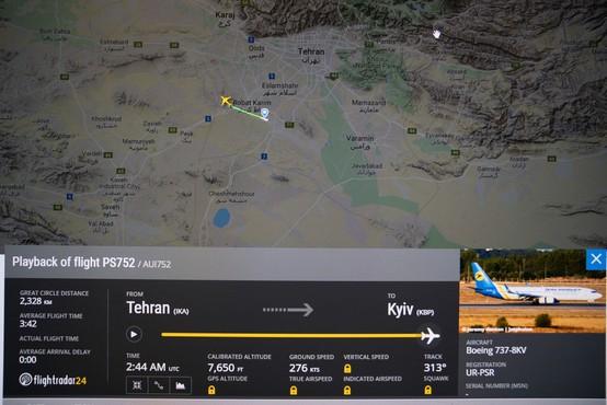 V Iranu strmoglavilo ukrajinsko letalo z najmanj 170 ljudmi na krovu