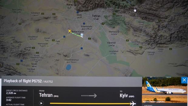 V Iranu strmoglavilo ukrajinsko letalo z najmanj 170 ljudmi na krovu (foto: profimedia)
