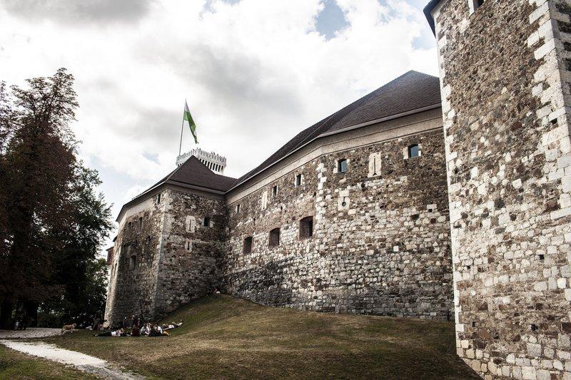 Ljubljanski grad, Ljubljana, Slovenija