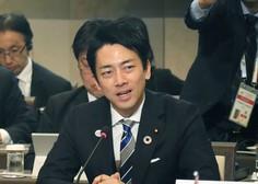 Japonski minister bo izkoristil očetovski dopust