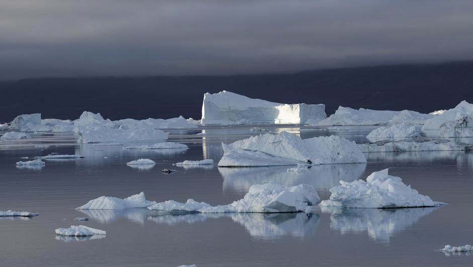 Na Grenlandiji se led tali hitreje od pričakovanj (foto: profimedia)